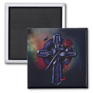 Magnet rectangulaire croix Mystic Falls Magnets Pour Réfrigérateur