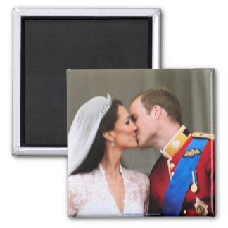 Magnet royal de mariage magnet carré