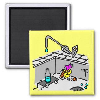 magnet salle de bain ou cuisine tiwie