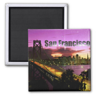 Magnet San Francisco Magnet Carré