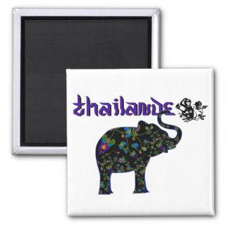 Magnet thailande 2 magnet carré
