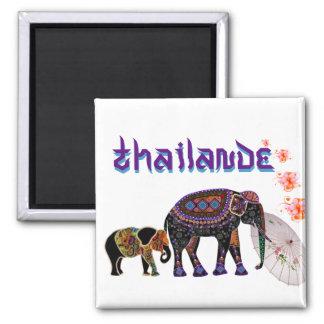Magnet Thailande Magnet Carré