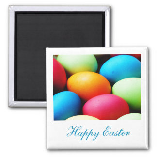 Magnet to celebrate Easter's Day - Colored eggs