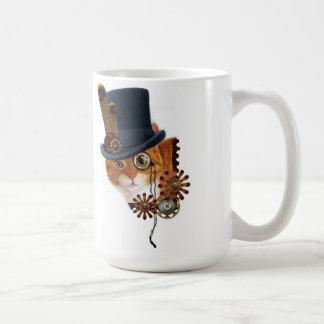 Magnétique de chat de Steampunk Mugs