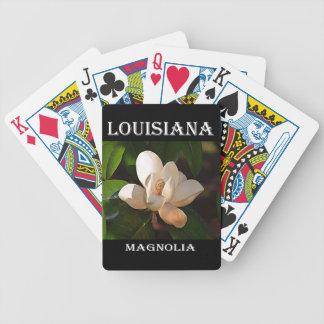 Magnolia du sud de la Louisiane Jeu De Cartes