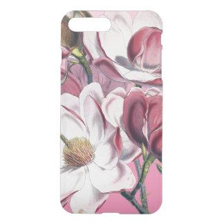 Magnolia rose coque iPhone 7 plus
