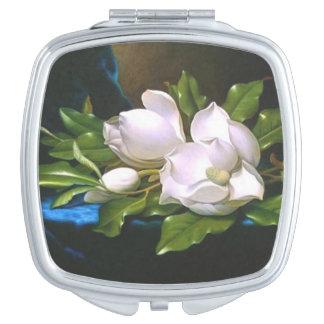 Magnolias magnifiques miroirs de maquillage