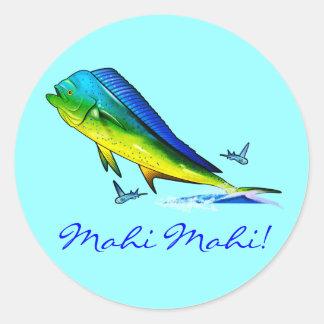 Mahi Mahi Sticker Rond