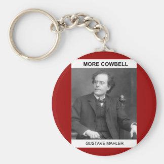 Mahler plus de porte - clé de sonnaille porte-clés
