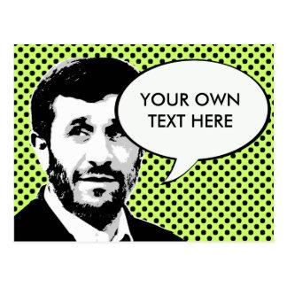 Mahmoud Ahmadinejad Carte Postale