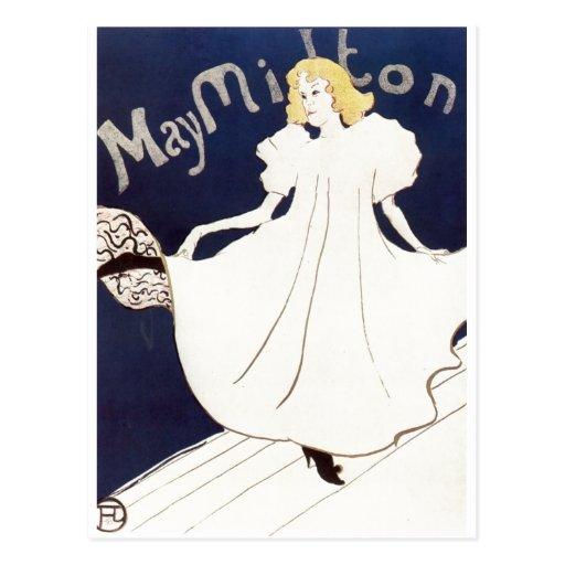 Mai Milton Henri 1895 De Toulouse-Lautrec Cartes Postales