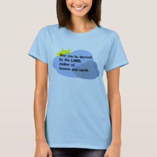 """""""Mai vous soyez bénis le T-shirt des femmes par"""