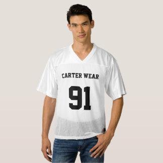 Maillot De Foot Pour Hommes Usage de Carter - le football Jersey - blanc