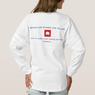 Maillot Spirit chemise d'esprit de jersey - femmes républicaines