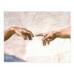 Main de Dieu par Michaël Angelo Carte Postale
