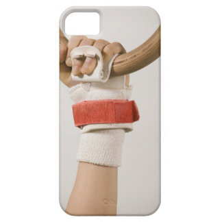 Main de gymnaste tenant l'anneau coques iPhone 5 Case-Mate
