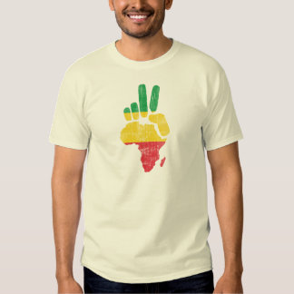 main de paix du Darfour Afrique T-shirts