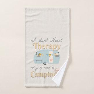 Main Towl de thérapie de camping