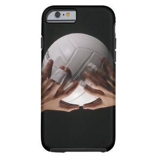 Mains de volleyball coque tough iPhone 6