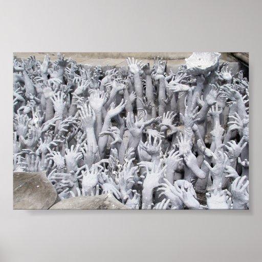 Mains d'enfer, Thaïlande Posters