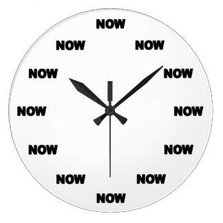 Maintenant horloge #1 (blanc)