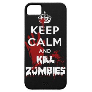 Maintenez caisse noire calme et de mise à mort de  étui iPhone 5