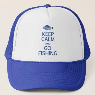 Maintenez calme et allez pêcher le casquette