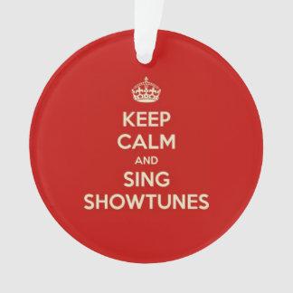 Maintenez calme et chantez Showtunes