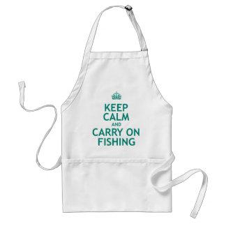 Maintenez calme et continuez la pêche tablier