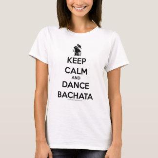 Maintenez calme et danse Bachata T-shirt