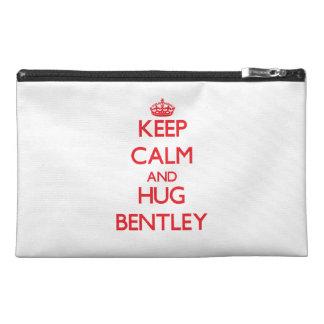 Maintenez calme et étreinte Bentley Trousse À Accessoires De Voyage
