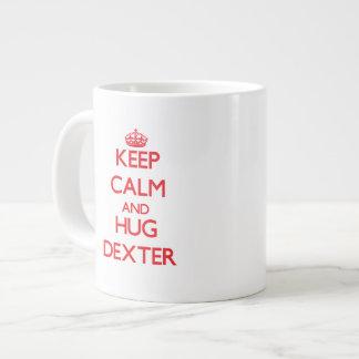 Maintenez calme et ÉTREINTE Dexter Mug Jumbo