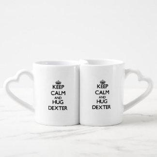 Maintenez calme et étreinte Dexter Set Mugs Duo