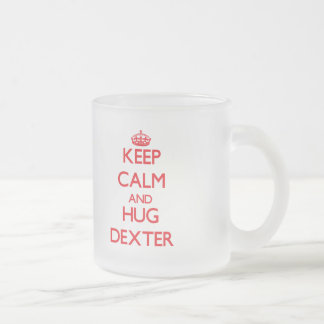 Maintenez calme et ÉTREINTE Dexter Tasse À Café