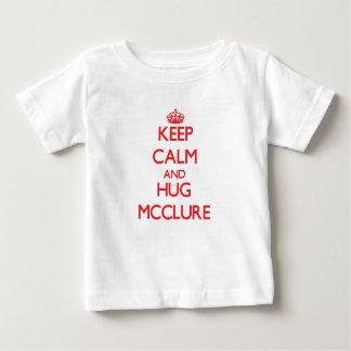 Maintenez calme et étreinte Mcclure T-shirt Pour Bébé