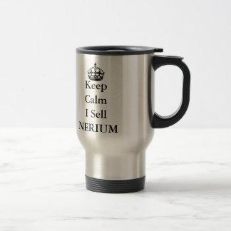 Maintenez calme je vendent le NERIUM Mug De Voyage
