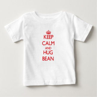 Maintenez haricot calme et d'étreinte t-shirt pour bébé