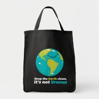 Maintenez la terre propre sac