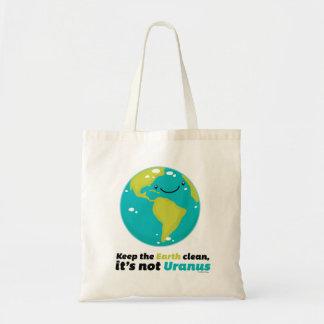 Maintenez la terre propre sacs fourre-tout
