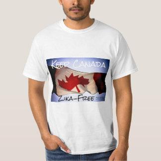 Maintenez le Canada Sans Zika par RoseWrites T-shirt