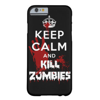 Maintenez le cas Cas noir calme et de mise à mort  Coque iPhone 6 Barely There