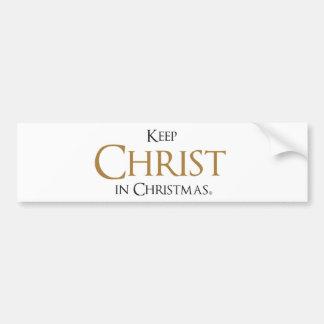 Maintenez le Christ dans l'adhésif pour pare-chocs Autocollant De Voiture