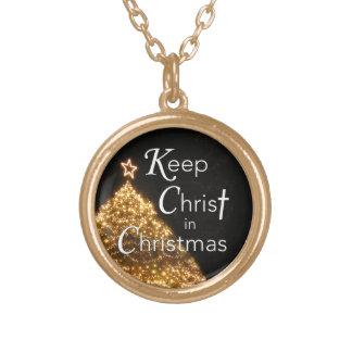 Maintenez le Christ dans l'arbre du collier W de