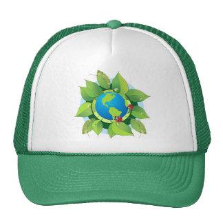 Maintenez-le vert pour le jour de la terre casquettes de camionneur