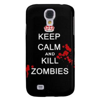 Maintenez les zombis calmes et de mise à mort pour coque galaxy s4