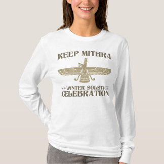Maintenez Mithra dans la célébration de solstice T-shirt