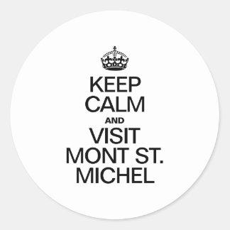 MAINTENEZ ST MICHEL CALME ET DE LA VISITE MONT STICKER ROND
