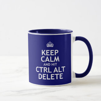 Maintenez suppression calme et du coup CTRL alt Mugs