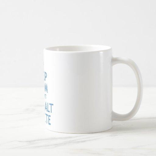 Maintenez suppression calme et du coup CTRL alt Tasses À Café