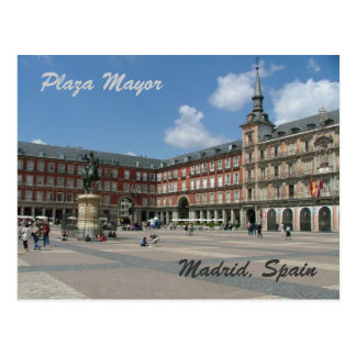 Maire de plaza carte postale